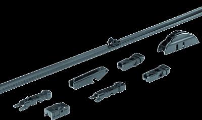 allpa Flat Blade wisserblad 21' - 525mm