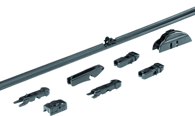 allpa Flat Blade wisserblad 24' - 600mm