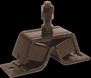 allpa Flexibele motorsteunen 60° shore stift M16 afm. 205x60x75mm max. 60kg