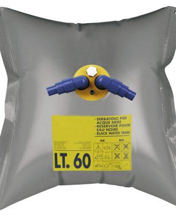 allpa Flexibele vuilwatertank  120l  730x1030mm  gewicht 1 65kg  rechthoek