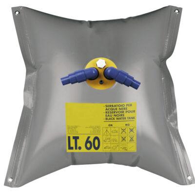 allpa Flexibele vuilwatertank 55l 950x950mm gewicht 0 75kg driehoek