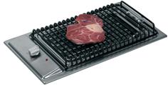 allpa Flush mount elektronische barbecue uit RVS (2400W)  230V  500x300x4mm