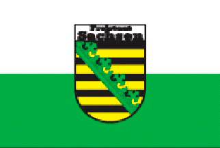 allpa Freistaat Sachsen vlag 20x30cm
