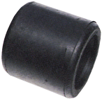 allpa Geleiderol  108x102mm  gatmaat 19mm (gegoten rubber) (met zacht oppervlak)