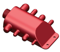 allpa Grijswaterverzamelpunt met slangaansluitingen Ø13mm tot 38mm  afvoeraansluiting 1-1/2