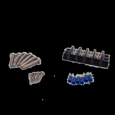 allpa Hardware kit: terminalstrip & schroeven voor bovenste brackets & voor het bedienpaneel