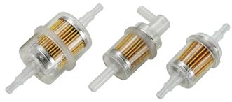 allpa In-line filter benzine voor motoren tot 2000cc  haaks  slang Ø6-8mm