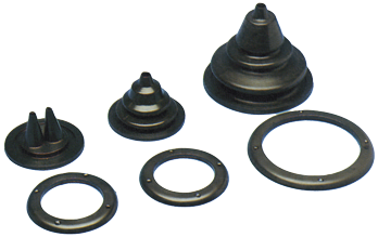 allpa Kabeldoorvoer / Balg met losse montagering gatmaat Ø118mm buitenmaat Ø150mm H=120mm