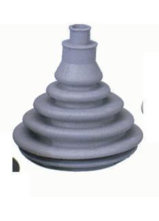 allpa Kabeldoorvoer / Balg zonder montagering  gatmaat Ø70mm  H=109mm  grijs