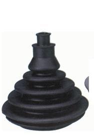 allpa Kabeldoorvoer / Balg zonder montagering  gatmaat Ø70mm  H=109mm  zwart