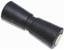 allpa Kielrol  L=432mm  gatmaat 16mm  extra zwaar met nylon lagerbussen (gegoten rubber)