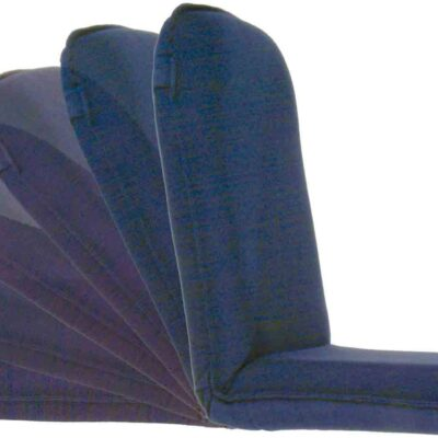 allpa Klapbare zit- en ligstoel model Royal Queen  blauw