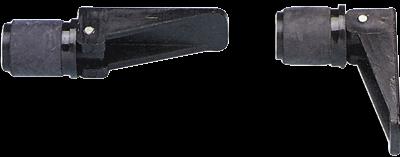 allpa Knelplug Ø22mm voor loospijp 001421 / 001422  zwart