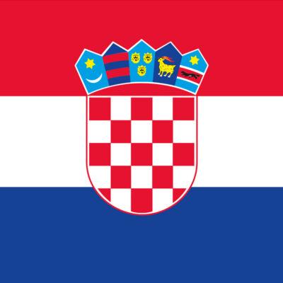 allpa Kroatische vlag 20x30cm