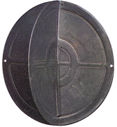 allpa Kunststof Ankerbal  Ø350mm  zwart