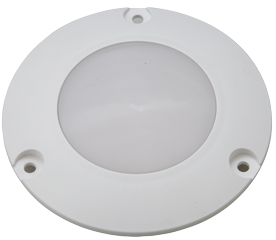 allpa Kunststof LED-Plafondlamp inbouw 12V/2W LED 5x 5Ø