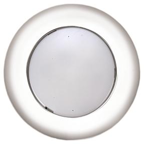 allpa Kunststof LED-plafondlamp inbouw 12V/2 2W LED 6x 5Ø