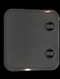 allpa Kunststof Luik 315x440mm 2x sluiting 180º zwart