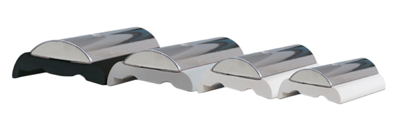 allpa Kunststof basisprofiel laag voor Sphaera 25  minimale order 12m  wit (prijs per meter)