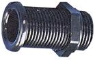 allpa Kunststof doorvoer (loospijp)  Ø22mm  L=62mm  zwart