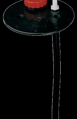 allpa Kunststof flensplaat voor vaste kunststof drinkwatertanks