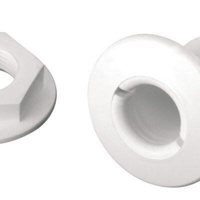 allpa Kunststof huiddoorvoer 1-1/2 x 38mm wit