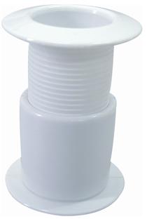 allpa Kunststof huiddoorvoer  opschroefbaar  Ø1-1/4 draad  48-75mm  flensmaat 54mm  binnenmaat 30mm