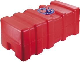 allpa Kunststof inbouw brandstoftank 53l  800x350x230mm met flensplaat