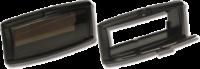 allpa Kunststof radioklep  233x107x85mm  zwart