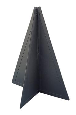 allpa Kunststof seinkegel  470x330mm  zwart