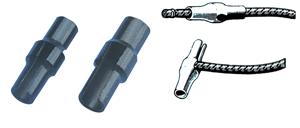 allpa Kunststof utility clip  Ø8mm