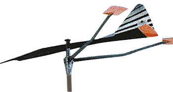 allpa Kunststof verklikker  groot model (draaipin Ø8mm)