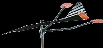 allpa Kunststof verklikker klein model (draaipin Ø6mm)
