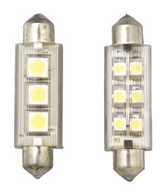 allpa LED-Buislamp  12V  0 5W  42x12mm  lichtkleur: warm white