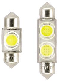 allpa LED-Buislamp  12V  0 98W  38x10mm  lichtkleur: warm white