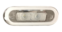 allpa LED-Loopverlichting kunststof inbouw 12V/0 21W LED 2x 0 2W 84x29mm