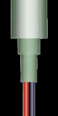 allpa LED-Loopverlichting kunststof inbouw 12V/0 24W LED 1x 5Ø H=4mm
