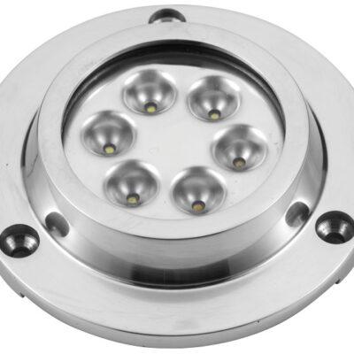 allpa LED Onderwaterverlichting opbouw 10-30V / 14 2W LED 6x3W (Samsung 3535) lichtsterkte 330LM