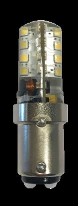 allpa LED-Vervangingslamp (BA15D)  10-30VDC Silicone