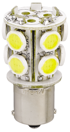 allpa LED-Vervangingslamp (BA15D)  2 5W  H=46mm  Ø22 5mm  pool Ø16 8mm