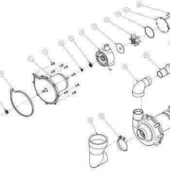 allpa Lipseal  slijtplaat  O-ring & schroeven