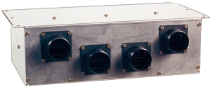 allpa Luchtverwarmingssysteem Flexy 7 24V/4 3A opbrengst 5 0kW bij 80ºC