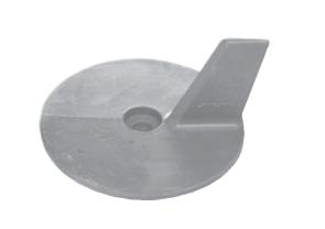 allpa Magnesium Anode Mercury / Mariner / Force / Honda outboard Skeg (OEM 41107ZW1B01)