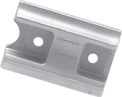 allpa Aluminium Anode boutmontage  gatsafstand = 80mm (0 42kg)