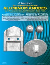 allpa Magnesium Anode kit Alpha-1 Gen-I 1983-1990