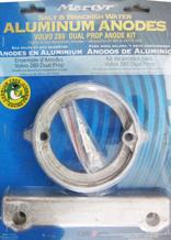 allpa Magnesium Anode kit Volvo 280 Dual Prop