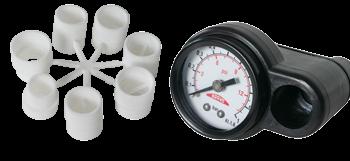 allpa Manometer voor artikel 026004 & 026006 (inclusief adapter set)