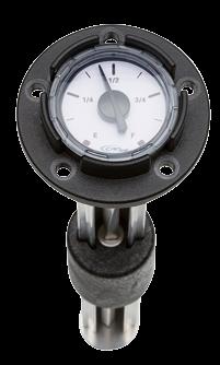 allpa Mechanische brandstof meter    L=370mm voor tanks  008080-008102-008120-008140
