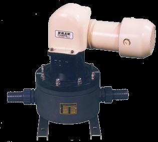 allpa Membraanpomp PVM 0 2 24V/8A 30l/min zelfaanzuigend tot 3m slangaansluiting Ø38mm