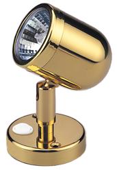 allpa Messing LED-Wand / Leeslamp (mini)  12V  LED 12x 5Ø  H=109mm